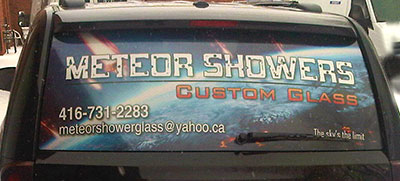 rear window perforated vinyl wrap