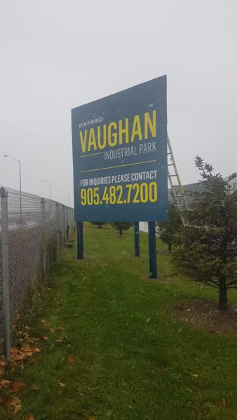 Oxford Vaughan Ground Signs