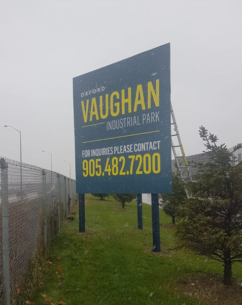 Oxford Vaughan outdoor Signs