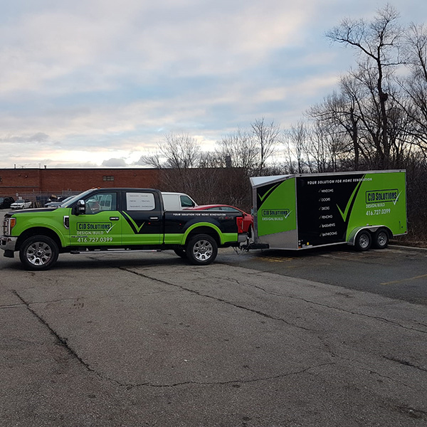 CID Solutions vehicle Wraps