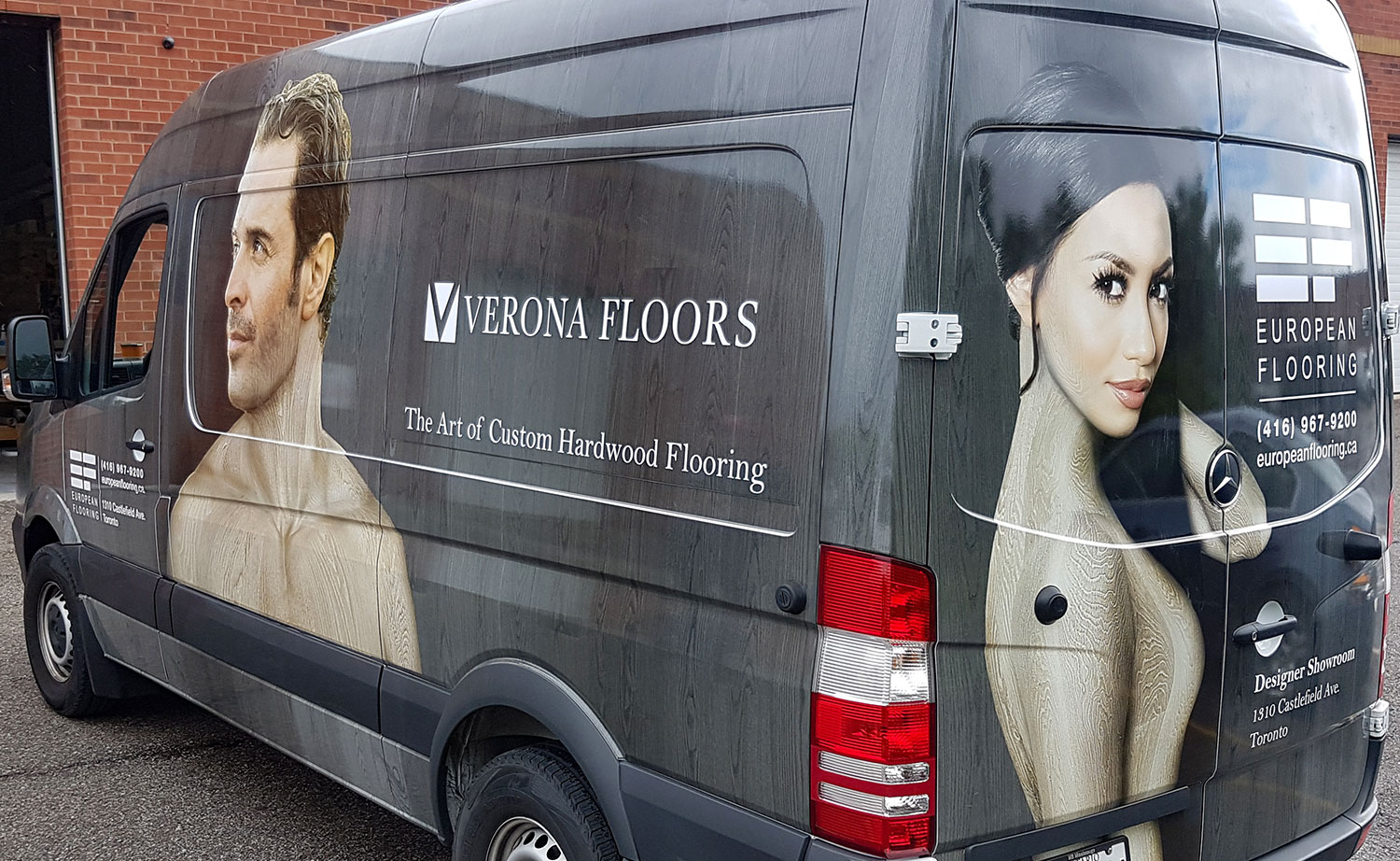 Vinyl Advertising Wraps For Vans Vehicle Graphics