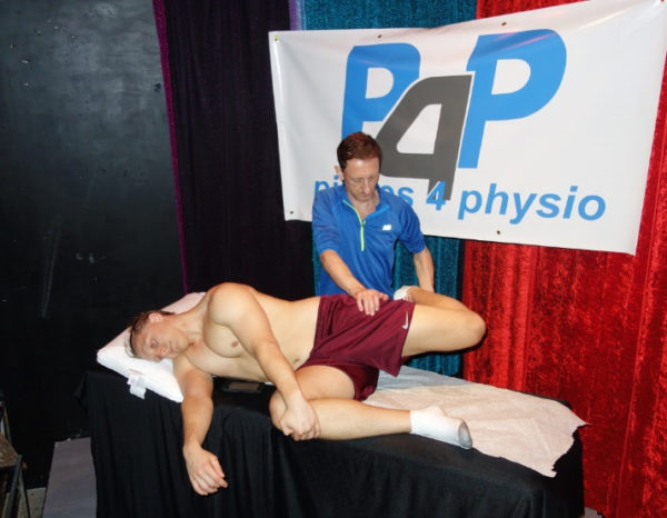Damian Wyard is a registered physiotherapist