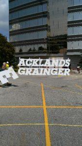 Acklands Grainger assembled before install