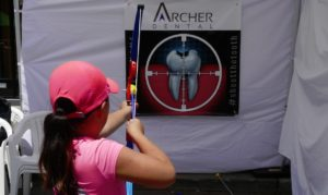 Archer Dental Tooth Target Sign