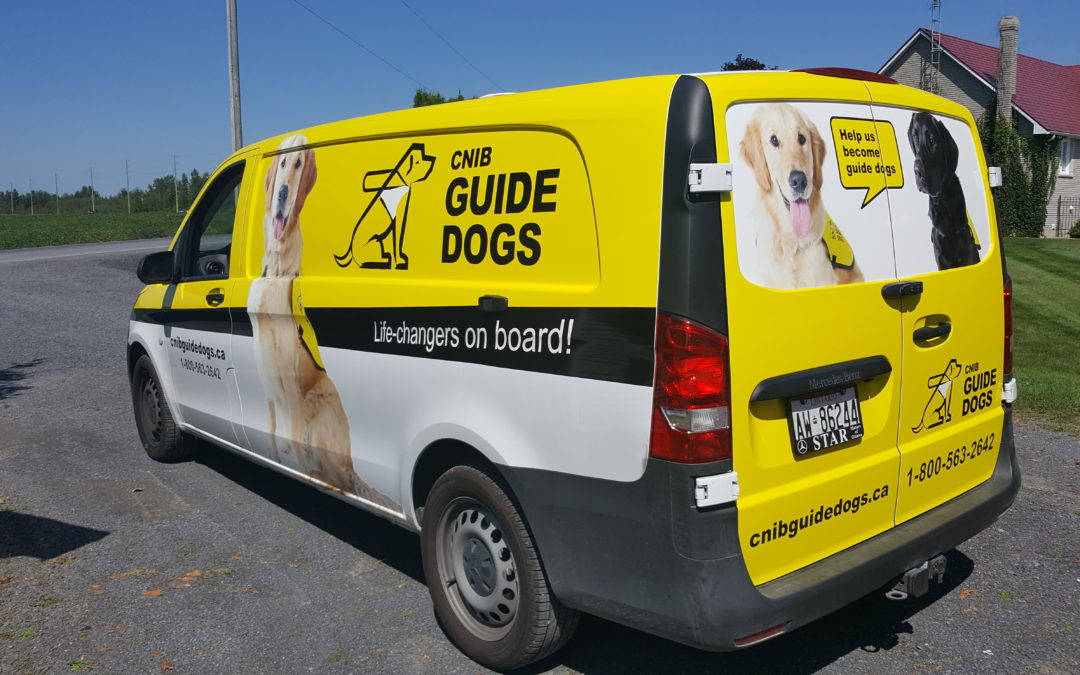 Learn How Sign Source Solution Helped CNIB Strengthen Their Community Presence With Vehicle Wraps