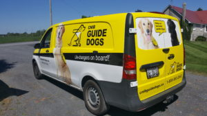 Guide Dogs Vehicle Wraps