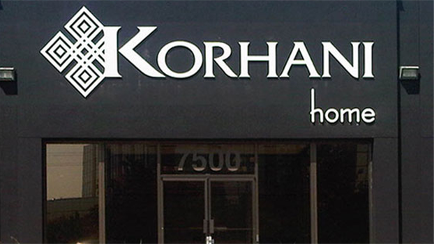 Korhani Homes Outdoor Sign