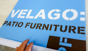 Printing Velago Patio fabric