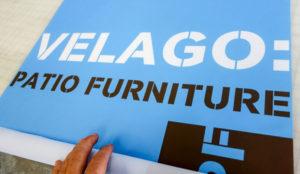 Printing Velago Patio fabric