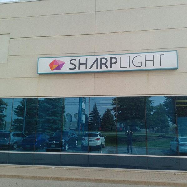 Sharp Light Outdoor Signs