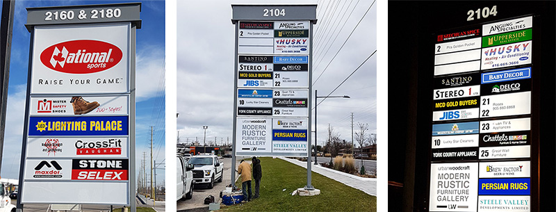 Our Pylon Signs Show Hwy 7 is Changing