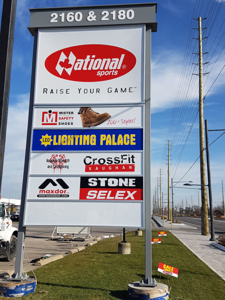 Custom Pylon Signs