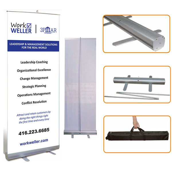 Trade Show With Custom Banners