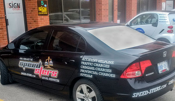car decals wrap toronto