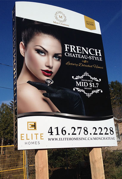 double sided billboard
