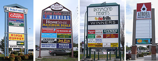 Custom Outdoor Business Signs Directional Signs In Toronto