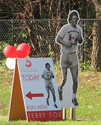 Sign Source Solution Helps Terry Fox Runners Cure Cancer in Thornhill