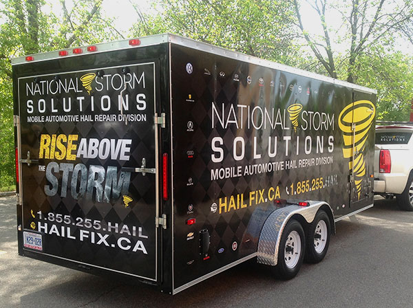 vinyl wraps for trailers